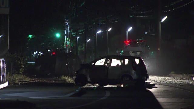福岡県福津市の国道495号線で普通車と軽が正面衝突して2人が死亡