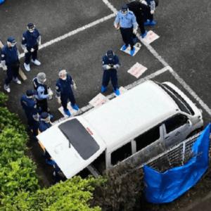 埼玉県和光市にあるマンション駐車場で軽ワゴン車から男性の遺体