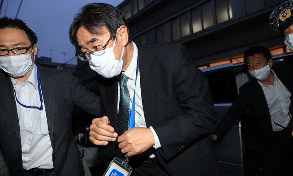 東京高検元検事長と新聞社に務めている社員が自宅で卓を囲んで賭け麻雀