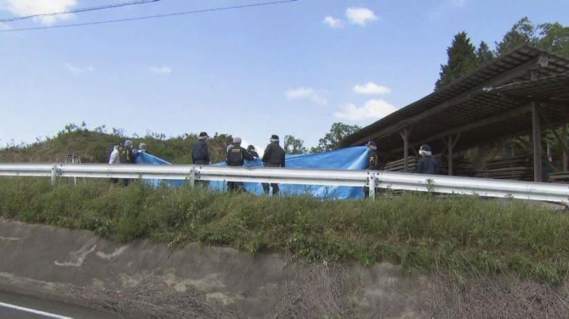 三重県名張市の製材置き場に車が止められその付近に男性と幼児の遺体
