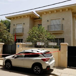 イスラエルの中国大使が大使公邸の寝室内で原因不明の死亡