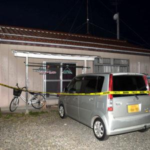 福島県須賀川市堀底町の住宅で女性が首を絞められ殺害