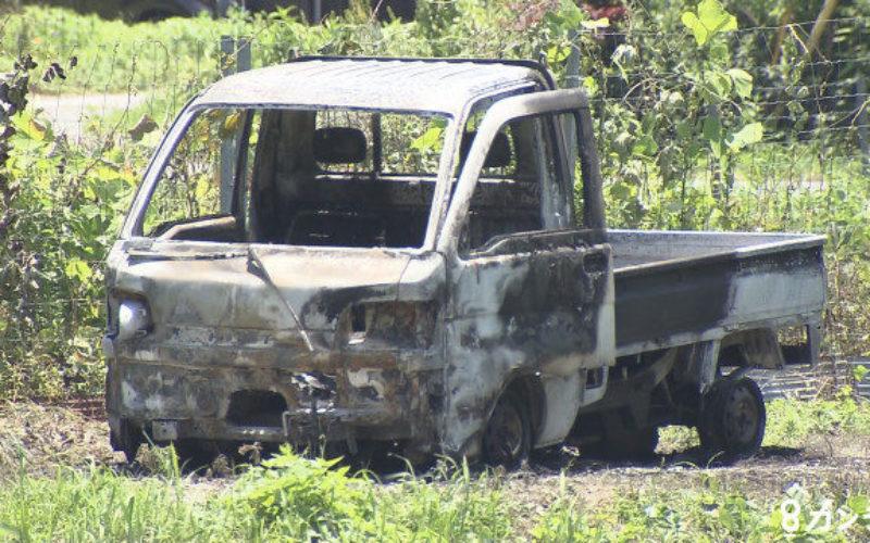 兵庫県市川町で軽トラックが炎上して車内から逃げ遅れた男性の遺体