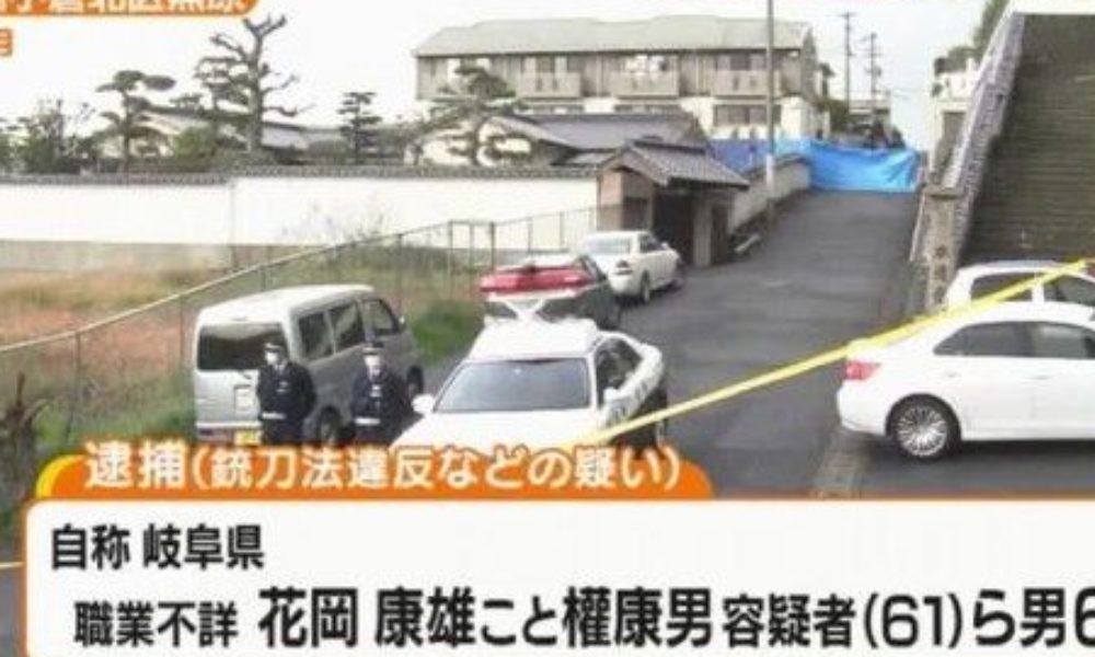 北九州市にある住宅に拳銃の銃弾を発砲して逃げていた6人の男を逮捕