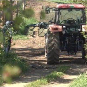 北海道別海町にある牧場でトラクターを運転する父親が次男をひいて死亡