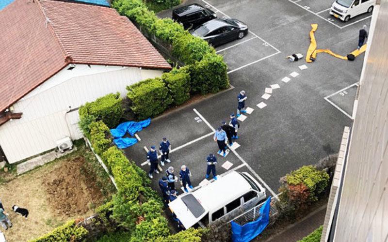 和光市のマンション駐車場に止めて車内に遺体を遺棄した男らを逮捕