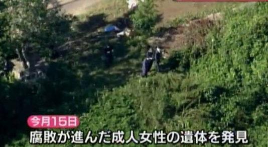 広島県廿日市市の山中で発見されている遺体は64歳の女性と判明
