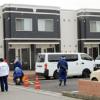 長野県飯田市松尾新井にあるアパートで首を絞められて殺害されている男性の遺体