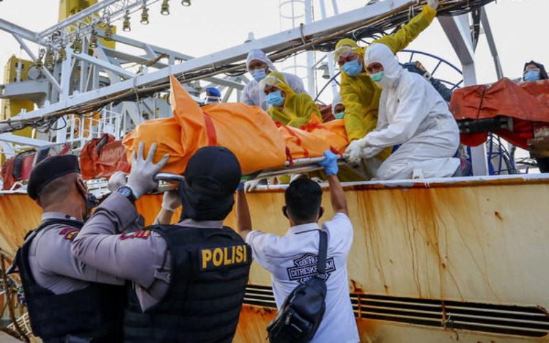 中国漁船から冷凍にされたインドネシア人の遺体
