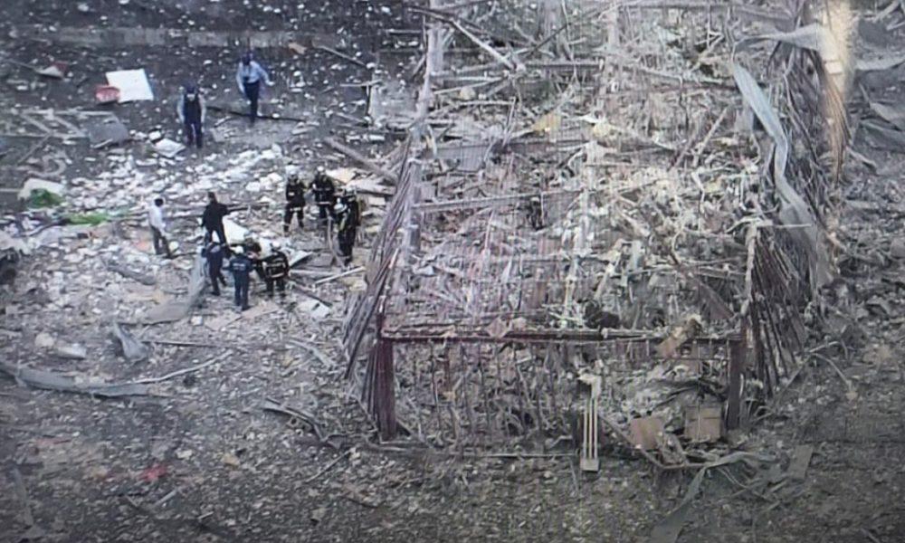 福島県郡山市のしゃぶしゃぶ店で建物が吹っ飛ぶ爆発事故