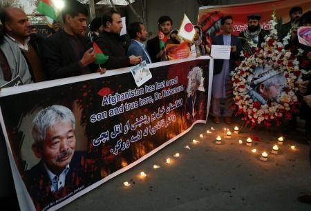 アフガンで民間活動団体の日本人を含める6人を待ち伏せして銃撃テロ
