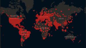 インドでコロナウイルスの感染者が100万人を超え世界で3位4