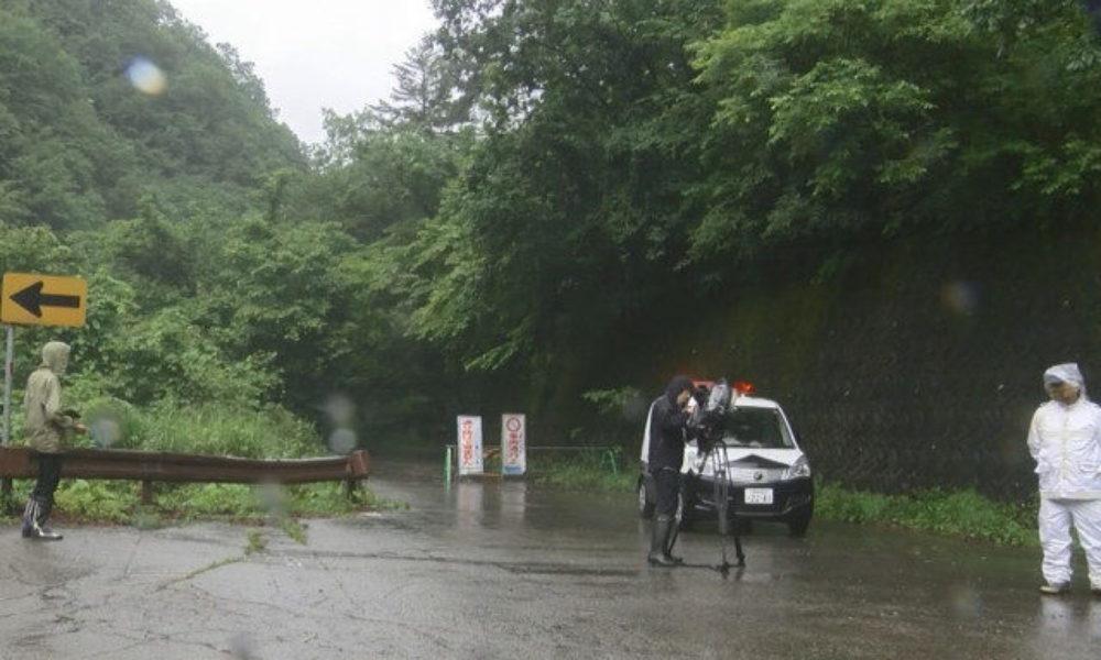 岐阜県高山市の林道から雨の影響で崩れた土砂の中に白骨化した遺体
