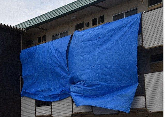 富山県高岡市野村にあるマンションで同居している女性を燃やした男を逮捕