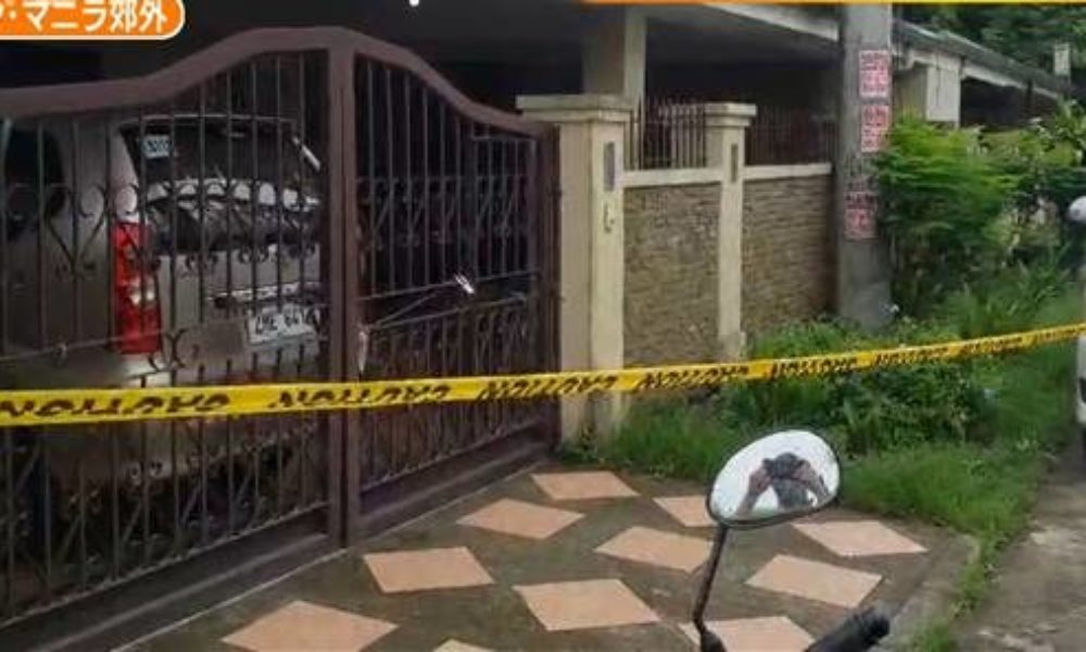 フィリピンの首都マニラ近郊にある住居で日本人女性が強盗に襲われ死亡