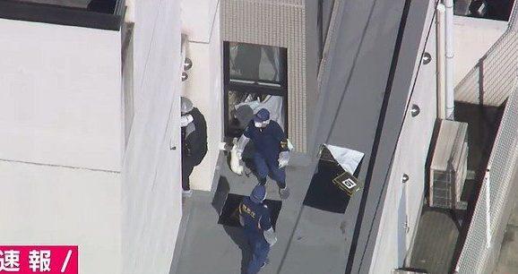 東京都中野区にあるマンションで血だらけになった女性の遺体