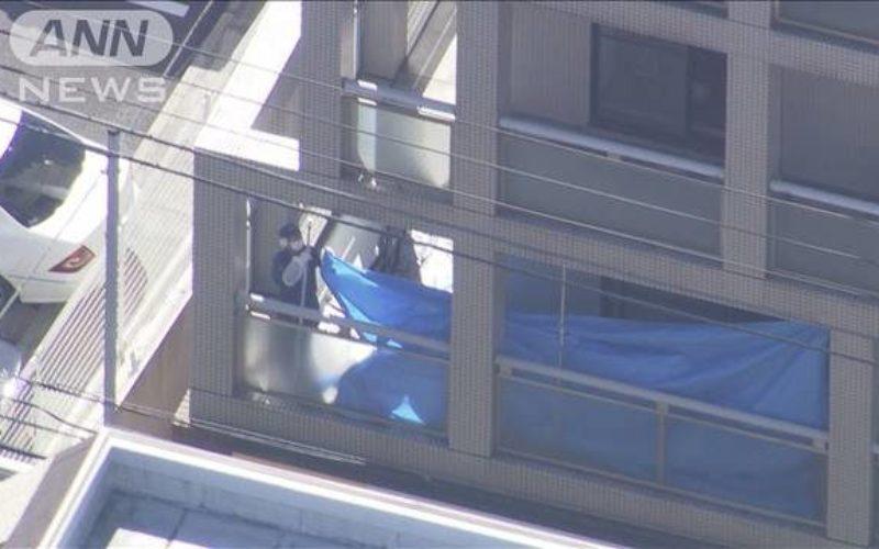 東京都中野区にあるマンションで血だらけになった女性の遺体1