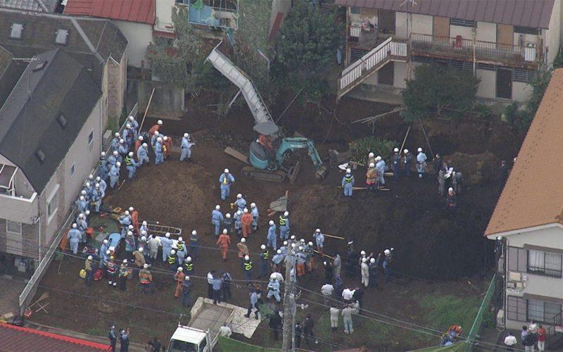 東京都板橋区の住宅造成工事で壁面に建てられた壁が崩れ男性作業員が死亡