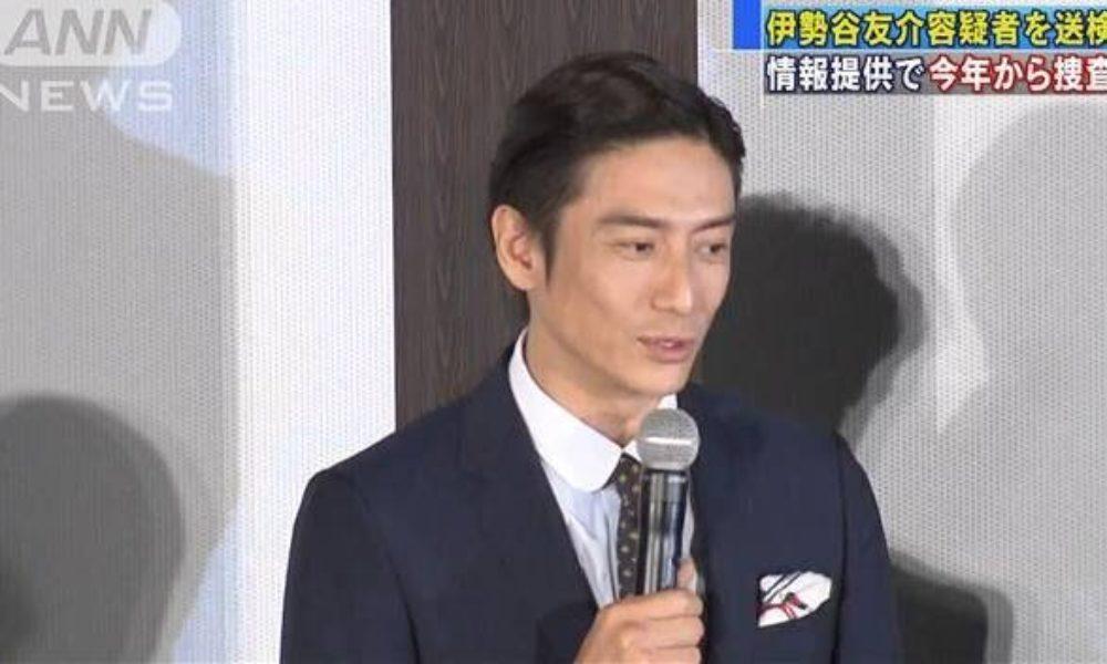 俳優の伊勢谷友介容疑者の自宅から警視庁の家宅捜索で数十グラムの大麻