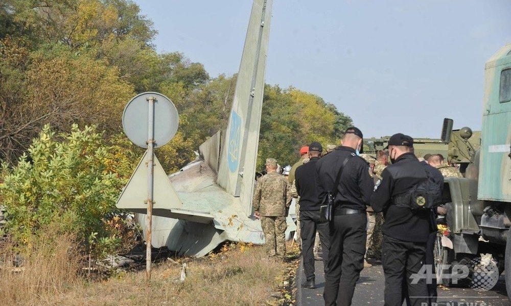 ウクライナ軍機がハリコフ近郊で着陸に失敗して士官候補生の数十人が死亡