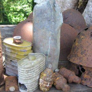ソロモン諸島の首都ホニアラで不発弾爆発