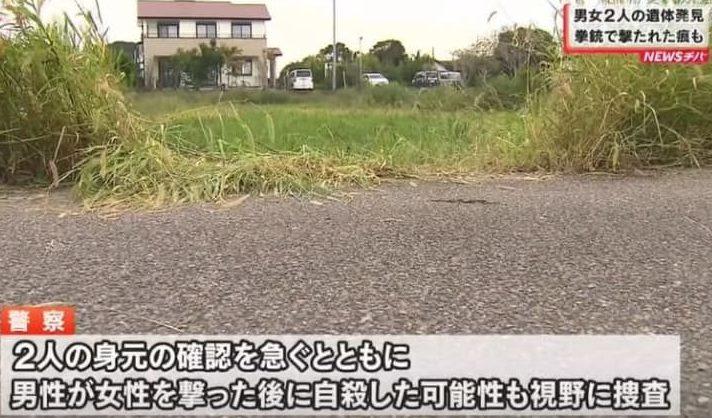 千葉県の異なる場所で拳銃に撃たれて死亡している男女の遺体