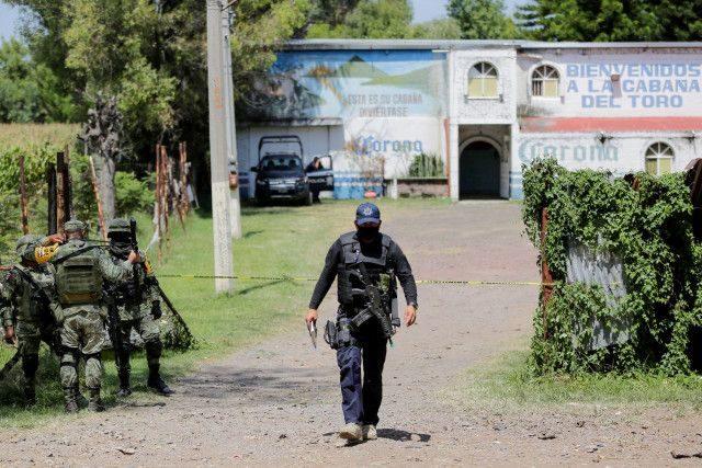 メキシコ中央高地のグアナフアト州でギャング同士の闘いで11人が死亡