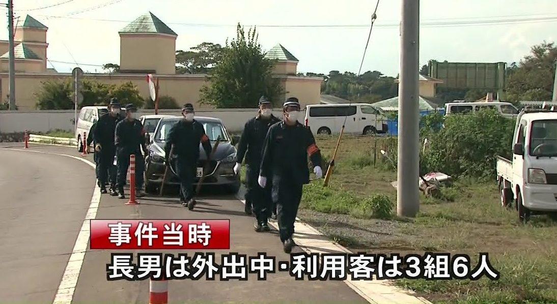 群馬県前橋市にあるホテルで経営者の女性を刺殺した事件