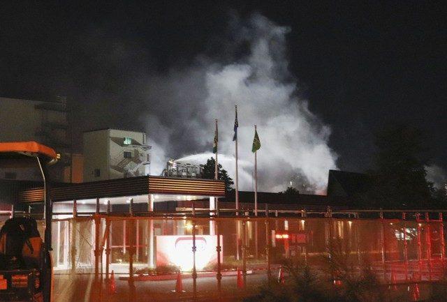 愛知県犬山市大畑木津の東洋紡で火災が発生して二人が死亡