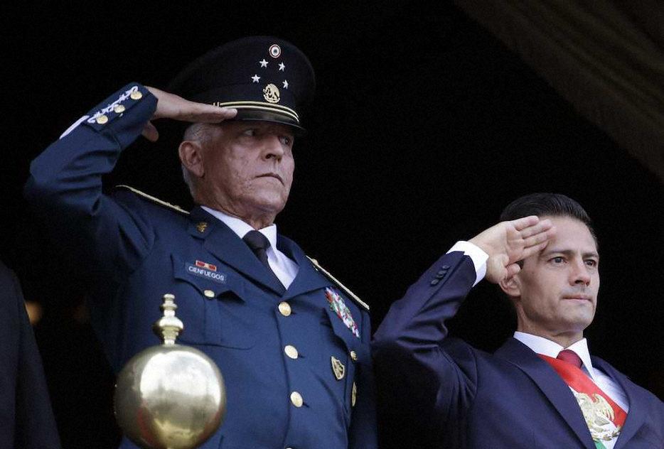 メキシコの元陸軍大将が麻薬の密輸に資金洗浄の疑いで逮捕