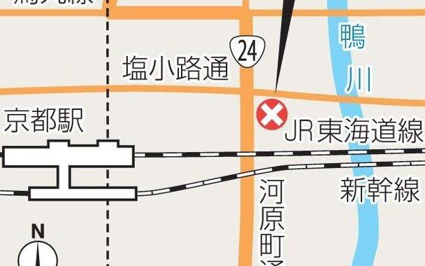 京都市下京区の市営住宅で住人の女性が刃物で刺されて死亡