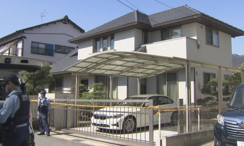 愛知県尾張旭市にある住宅で高齢の男性が金槌で殴られ死亡