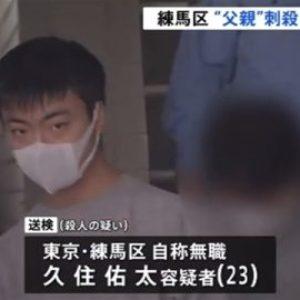 東京都練馬区のアパートで60代の男性が息子に滅多刺しにされ死亡