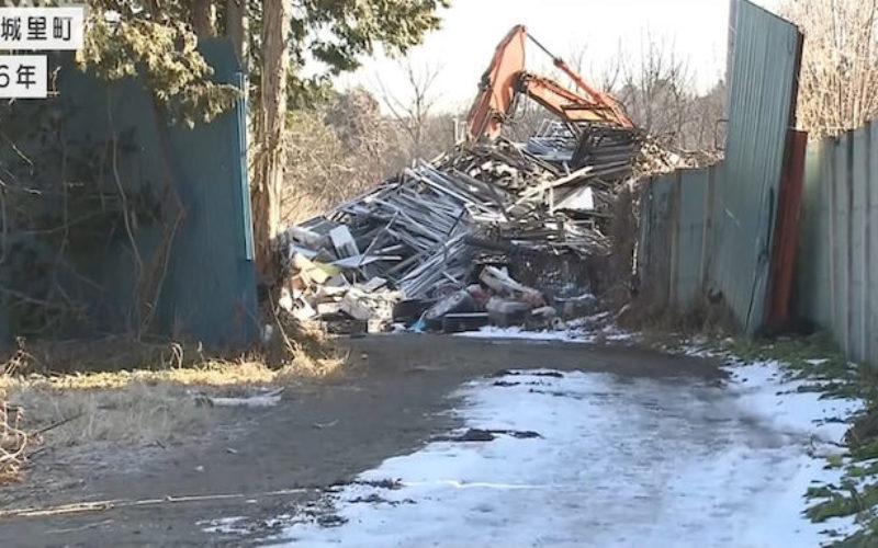 茨城県城里町にある資材置き場で4年前に古物商の男性殺害事件