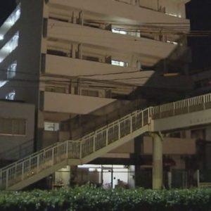 大阪市住吉区のマンションで男性が知人に刃物で刺されて死亡