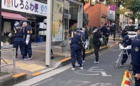 東京都渋谷区幡ヶ谷にあるバス停に座っていた女性撲殺事件