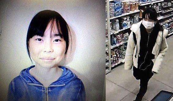 奈良市の女子中学生が誰かに連れ去られた可能性のある事件