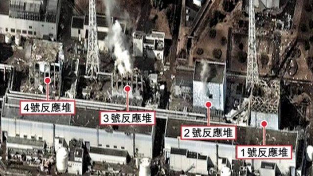 福島第一原発の2号機と3号機で高濃度に汚染された放射能検出