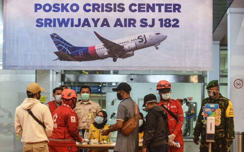 インドネシアのジャカルタから飛び立った旅客機が墜落
