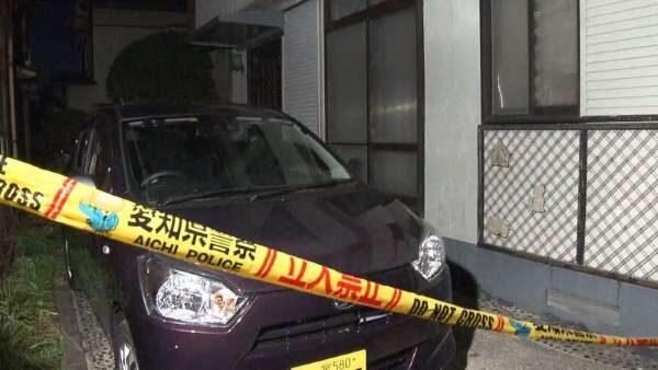 愛知県一宮市で殺害した妻の遺体を車で移動させる寸前に逮捕