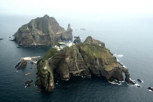 米国で発見された地図上に竹島が日本の領土を示す記載