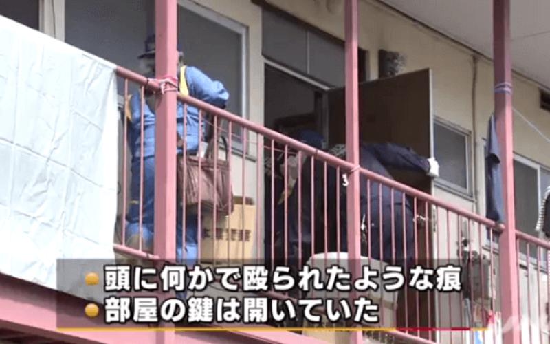 熊本市西区にあるアパートで男性が撲殺された事件での容疑者が死亡