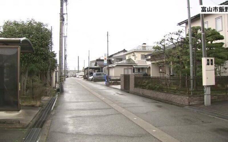 富山市飯野で包丁を持った男が接近し身の危険を感じた警官が発砲