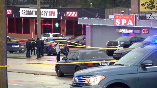 米国南部のジョージア州で銃撃事件があり8人が死亡