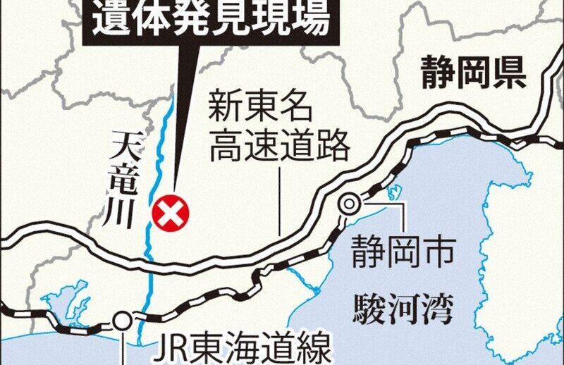 浜松市で女子学生を誘拐し山中で殺害した福岡市の男を逮捕