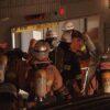 新宿区の地下駐車場で消火設備が作動し作業員の4人が死亡