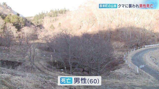 北海道で山菜採り夫婦が熊に出くわして襲われ男性死亡