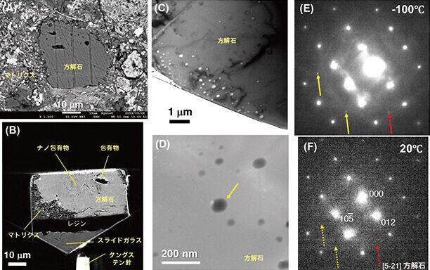 宇宙から地球に飛来した隕石から液体の水らしき物質を採取