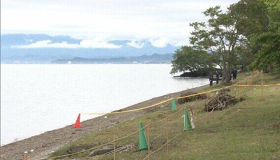 滋賀県の琵琶湖岸でスーツケースに入れられて遺棄されていた遺体