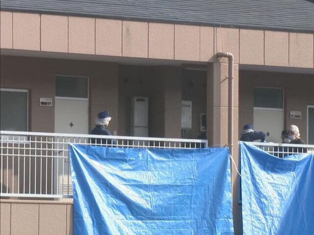 愛知県田原市のアパートで同居していた男性を刃物で刺した殺人事件